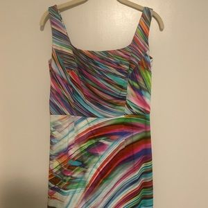 Multicolor milly dress